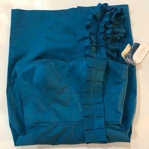 🎀 Jessica Simpson One Shoulder Blue Dress Size 4